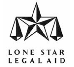 Lone Star Legal Aid  Free legal consultation is provided by Lone Star Legal Aid for non-criminal cases. They come to LCM montly to meet and have clients register for services.